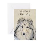 Shetland Sheepdog Greeting Cards (Pk of 20)