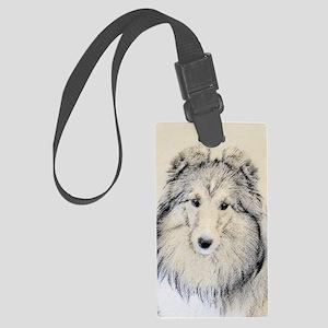 Shetland Sheepdog Large Luggage Tag