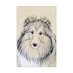 Shetland Sheepdog Mini Poster Print