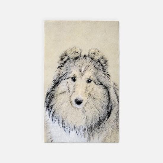 Shetland Sheepdog Area Rug