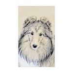 Shetland Sheepdog Sticker (Rectangle 10 pk)