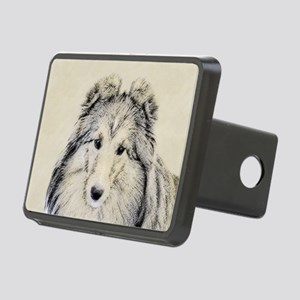 Shetland Sheepdog Rectangular Hitch Cover