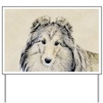 Shetland Sheepdog Yard Sign