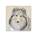 Shetland Sheepdog Square Sticker 3