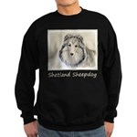 Shetland Sheepdog Sweatshirt (dark)