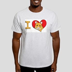 I heart hamsters Light T-Shirt