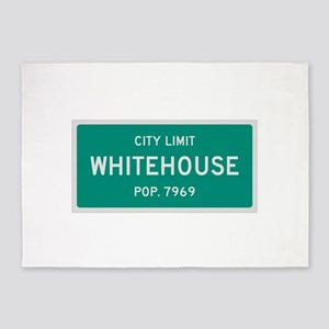Whitehouse, Texas City Limits 5'x7'Area Rug
