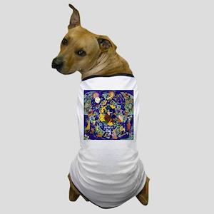 Star Quilt Sagittarius Dog T-Shirt