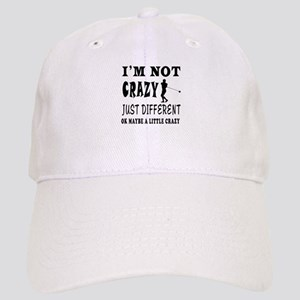 I'm not Crazy just different Hammer Throw Cap