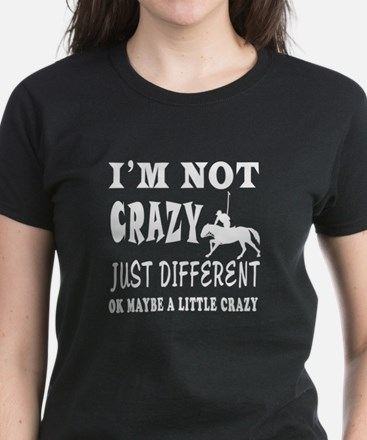 I'm not Crazy just different Horse Polo Women's Da