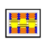 Power Cubed Framed Panel Print