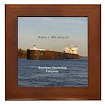 Walter J. Mccarthy Jr. Framed Tile
