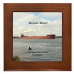 Mesabi Miner Framed Tile