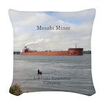 Mesabi Miner Woven Throw Pillow
