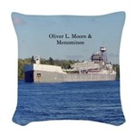 Oliver L. Moore & Menominee Woven Throw Pillow
