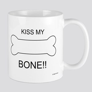 kiss my bone Small Mug