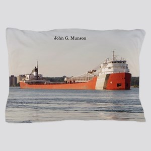 John G. Munson Pillow Case