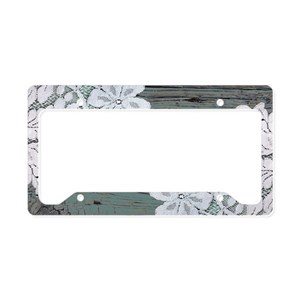 Primitive License Plate Frames - CafePress