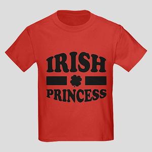 Irish Princess Kids Dark T-Shirt