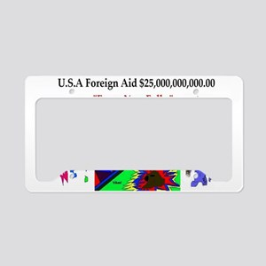 Obama Care USA License Plate Holder