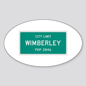 Wimberley, Texas City Limits Sticker