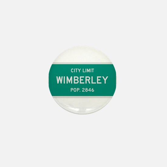 Wimberley, Texas City Limits Mini Button
