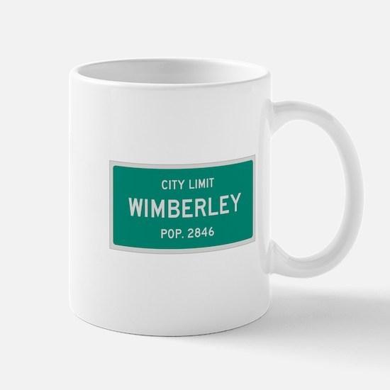 Wimberley, Texas City Limits Mug