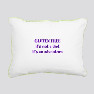 GLUTEN FREE adventure Rectangular Canvas Pillow