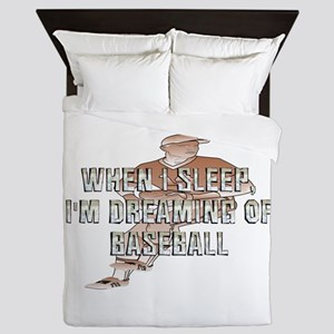TOP Baseball Dreams Queen Duvet