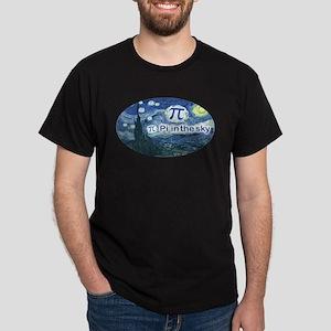 Pi in the Sky Oval Dark T-Shirt