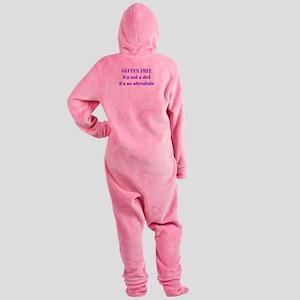 GLUTEN FREE adventure Footed Pajamas