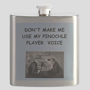 PINOCHLE Flask