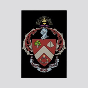 Triangle Fraternity Crest Rectangle Magnet