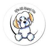 Its all about me Round Car Magnets