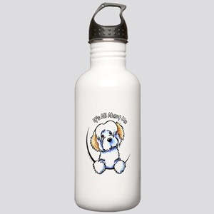Piebald Havanese IAAM Stainless Water Bottle 1.0L