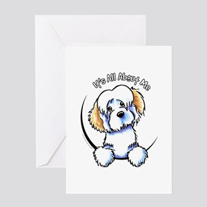 Piebald Havanese IAAM Greeting Card