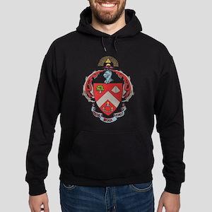 Triangle Fraternity Crest Hoodie (dark)