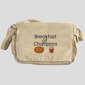 Breakfast of Champions Messenger Bag