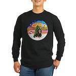 XMusic2-Cav-BT-R Long Sleeve Dark T-Shirt