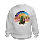 XMusic2-Cav-BT-R Kids Sweatshirt