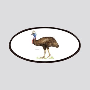 Cassowary Bird Patches