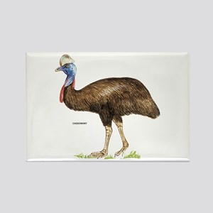 Cassowary Bird Rectangle Magnet