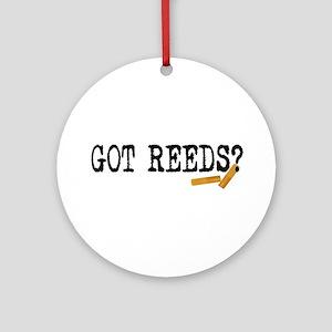 Got Reeds? Ornament (Round)