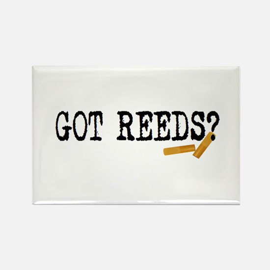 Got Reeds? Rectangle Magnet