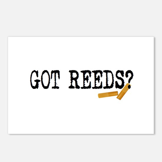 Got Reeds? Postcards (Package of 8)