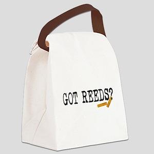 Got Reeds? Canvas Lunch Bag