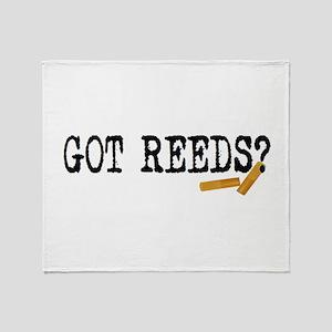 Got Reeds? Throw Blanket