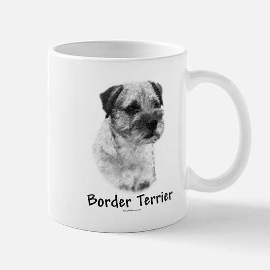 Border Terrier Charcoal Mug