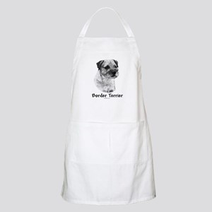 Border Terrier Charcoal BBQ Apron