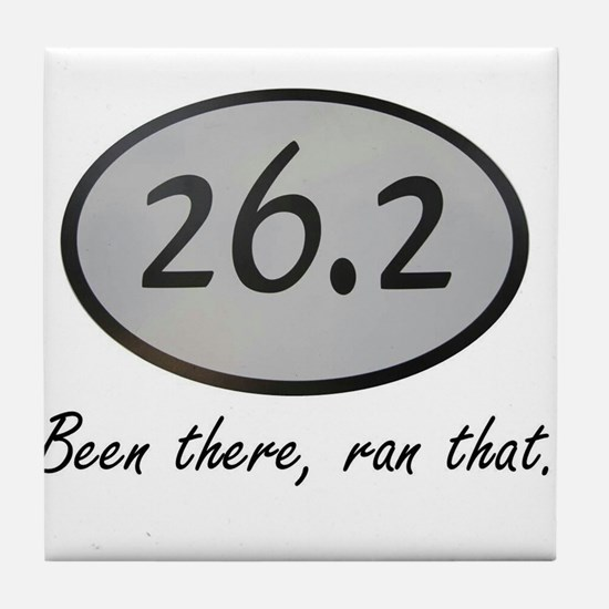 Been There 26.2 Tile Coaster
